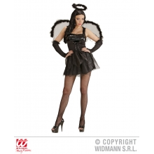 Costume Black Angel angelo nero