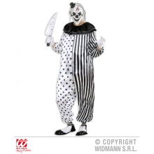 Costume Killer Clown vestito Horror Halloween