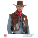 Gilet Cowboy Cow Boy Far West Sceriffo