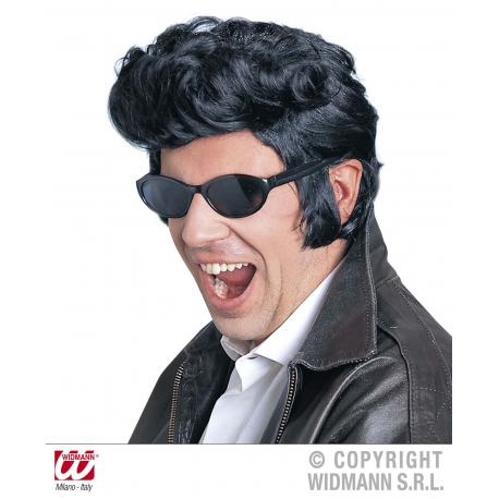 Parrucca Rock Elvis Grease