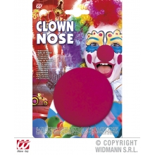 naso clown spugna in blister clownterapy clownterapia