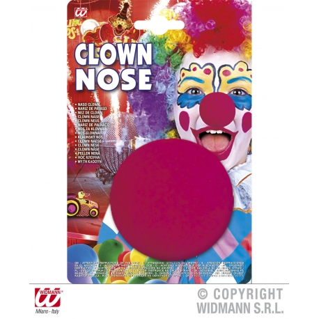 Naso clown spugna in blister