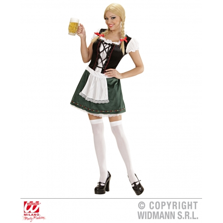 Costume Oktoberfest donna Bavarian girl