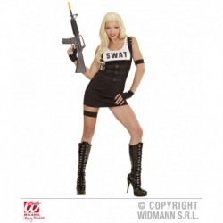 Costume Swat Donna Reparti Speciali FBI