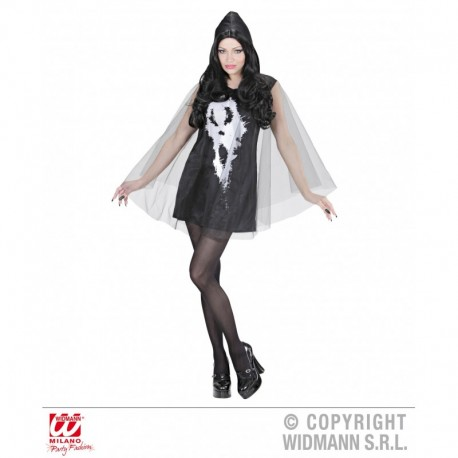 Costume Screaming Ghost lady Vestito Halloween