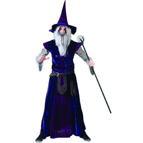 Costume Mago Adulto Wizard