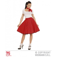Gonna 50s lady travestimento stile anni 50 Grease