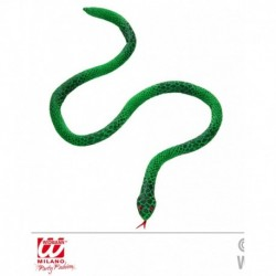 Serpente verde modellabile 100 cm