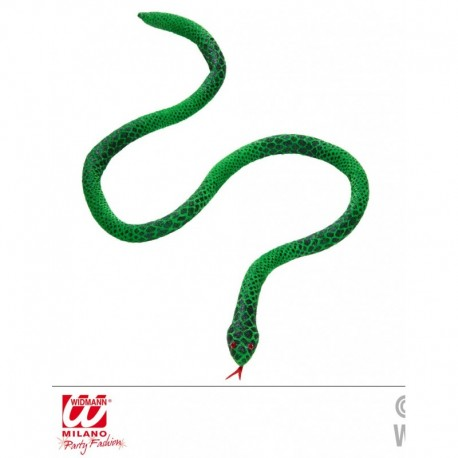Serpente verde modellabile