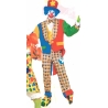 Costume clown on the town