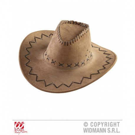 Cappello Cow Boy con impunture