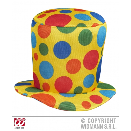 Cappello cilindro clown Pagliaccio Clown terapy