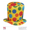 Cappello cilindro clown