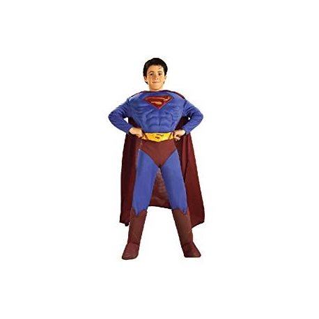 Costume superman con muscoli
