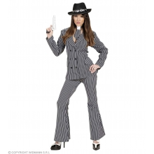 Costume Gangster donna