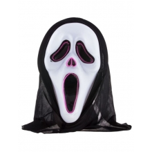 Maschera luminosa scream