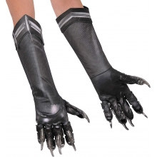 Guanti Black panther adult
