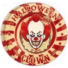 Piatti Clown Killer Halloween