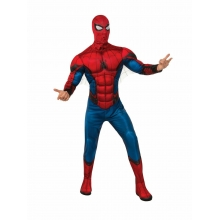 Costume spiderman adulto con muscoli