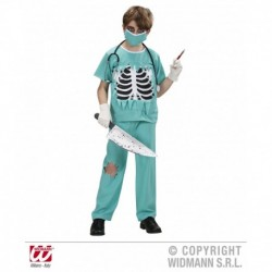 Costume Scary Surgeon Chirurgo horror travestimento  Chirurgo Horror bambino