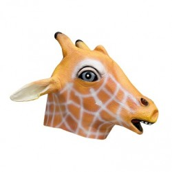 Maschera Giraffa in lattice torrianishop
